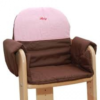 kinderland m lln herlag sitzpolster sitzverkleinerer f r hochstuhl tipp topp iii rosa. Black Bedroom Furniture Sets. Home Design Ideas